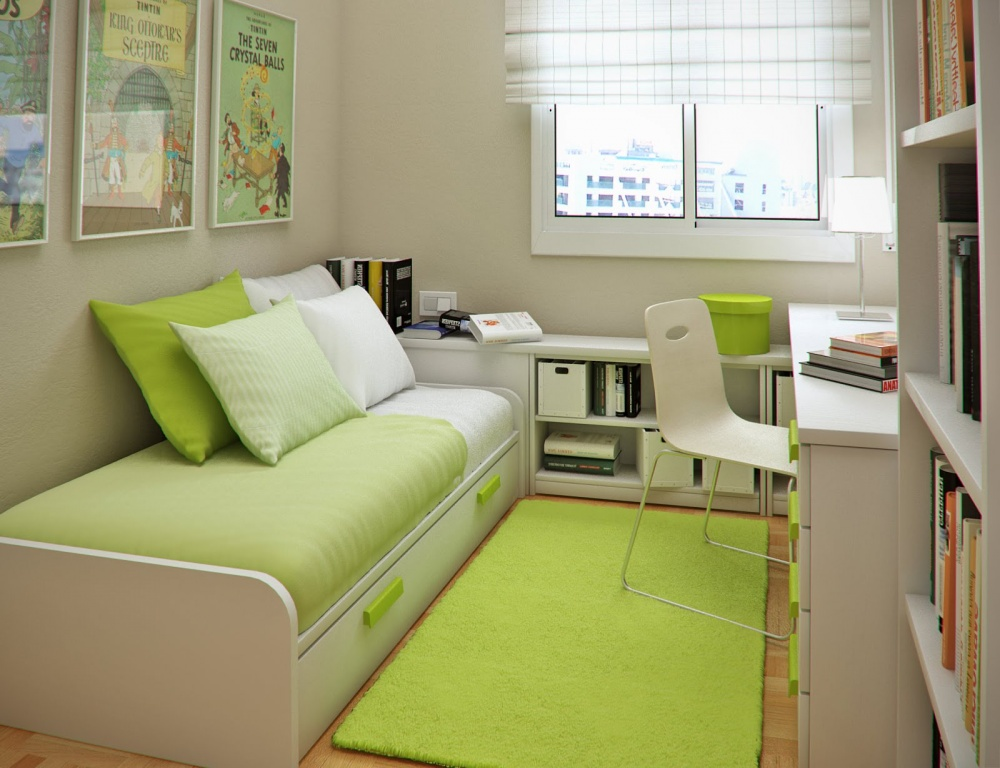 Small Single Bedroom Ideas Part - 50: 9 Smart And Practical Ideas For Small Bedrooms - Foynd